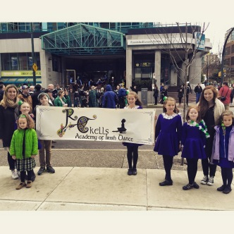 RC Kells at our first St. Patrick's Day Parade